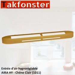 Entrée d'air hygroréglable AIRA HY - Chêne Clair 1011 - Anjos