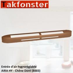 Entrée d'air hygroréglable AIRA HY - Chêne Doré 8003 - Anjos