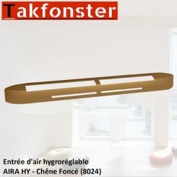 Entrée d'air hygroréglable AIRA HY - Chêne Foncé 8024 - Anjos