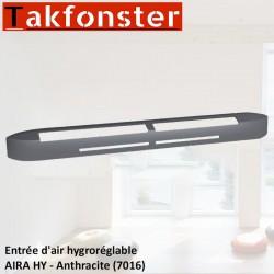Entrée d'air hygroréglable AIRA HY - Anthracite 7016 - Anjos