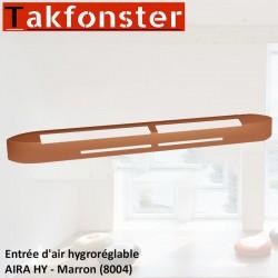 Entrée d'air hygroréglable AIRA HY - Marron 8004 - Anjos