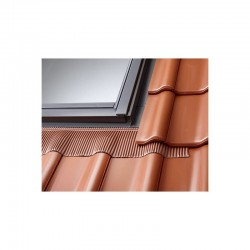EDW MK06 Rouge Brun VELUX - Raccord tuile pose traditionnelle