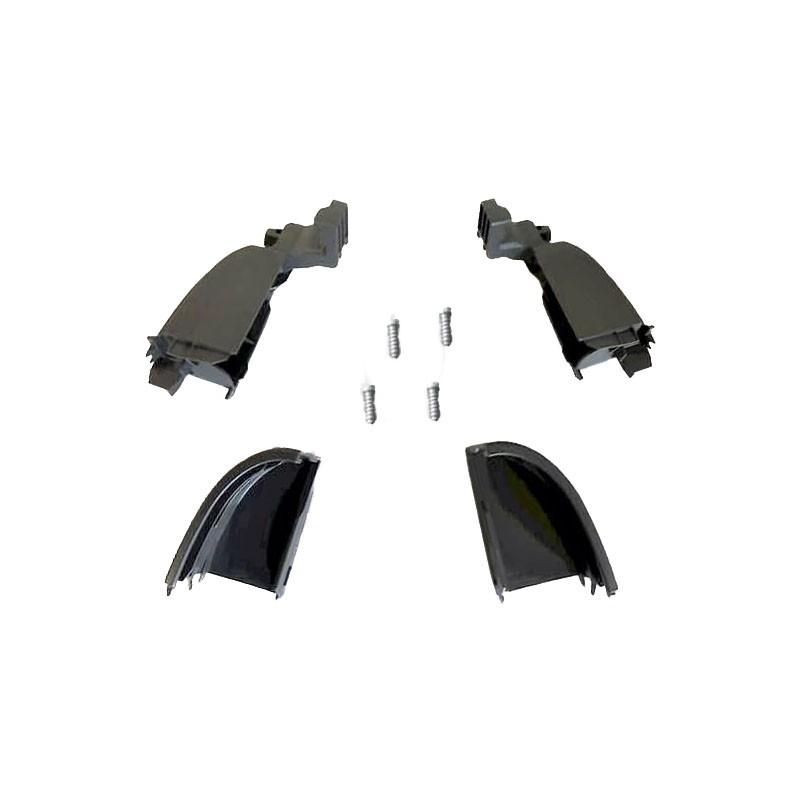 Embout glissière BAS - droit et gauche VELUX - SCL / SML / SSL - V22, fond blanc