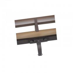 Barre clapet CK00 - GGL / GPL / GFL - V22 - Bois Vernis - VELUX