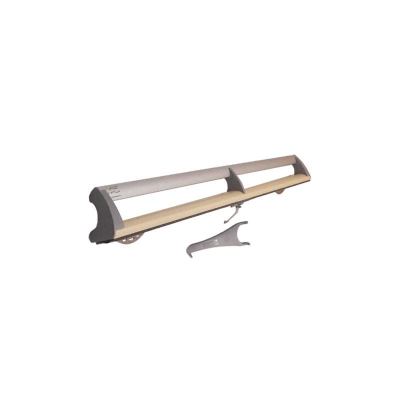 Barre clapet MK00 - GGL / GPL / GFL - V22 - Bois Vernis - VELUX