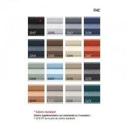 Palette couleur disponible stores FHC VELUX