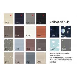 Palette couleurs disponibles stores DKL VELUX