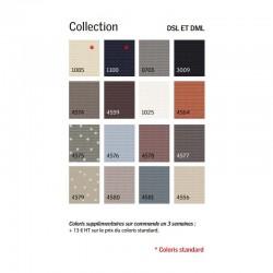 Palette couleurs disponibles stores DSL VELUX