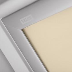 Store Occultant à énergie solaire beige VELUX DSL MK08 - Zoom couleur