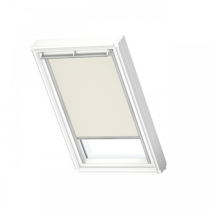 Store Occultant à énergie solaire beige VELUX DSL MK08