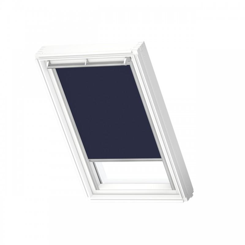 Store occultant à énergie solaire VELUX bleu foncé DSL MK06