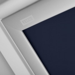 Store Occultant à énergie solaire VELUX bleu foncé DSL MK08 - Zoom couleur