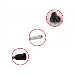 Ressort volet 530 mm VELUX - SML / SCL / SSL - V21, zoom sur embout produit