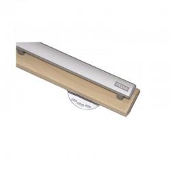 Barre Clapet - GGL / GHL - VES - 304 / 306 / 308 / 310 / 312 - Bois Vernis - VELUX