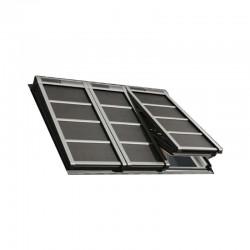 Volet roulant souple à énergie solaire (pour les 3 fenêtres, verrières 3 en 1) - SSSS FFKF06 0000S VELUX