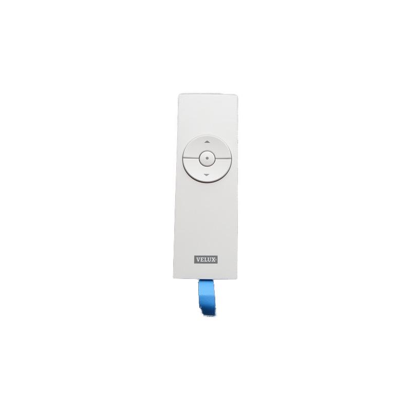 Télécommande monoproduit IO (Avec support) VELUX - Fond blanc