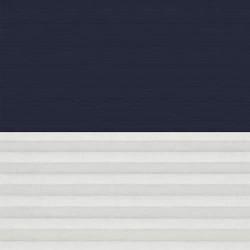 Store Duo Occultant Tamisant Manuel VELUX Bleu foncé DFD 104 - Zoom couleur