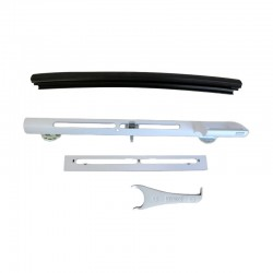 Barre de ventilation ZOF PK00 0045W - Whitefinish - GGL / GPL
